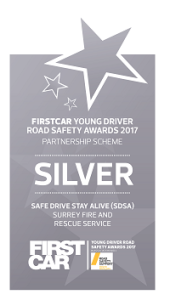 Firstcar Young Driver Road Safety Awards 2017 - Partnership Scheme - Silver award