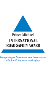 Prince Michael International Road Safety Award winner logo