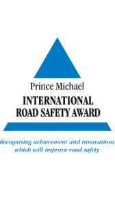 Prince Michael International Road Safety Award winner logo
