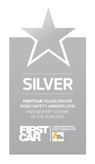 Firstcar Young Driver Road Safety Awards 2016 - Partnership Scheme of the Year - Silver award logo