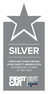 Firstcar Young Driver Road Safety Awards 2015 - Partnership Scheme of the Year - Silver award logo
