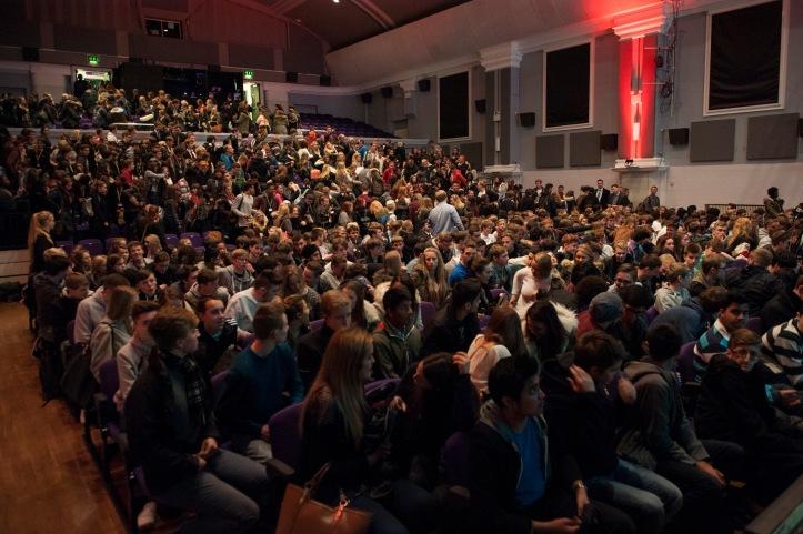 Audience, Pre performance, 2014